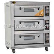 DKX-3-三层六盘电烤炉 ,蛋糕电烤箱,火烧电烤箱