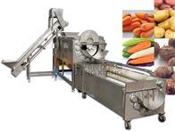 LXTP-3000土豆(马铃薯、胡萝卜)清洗抛光生产线