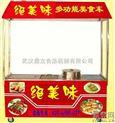 加盟武漢多功能小吃車/燒烤小吃車,仙桃油炸小吃車/小吃車圖片價格