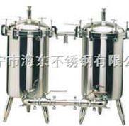 食品過濾器專家供應食用油蜂蜜漿衛生級不銹鋼雙聯過濾器