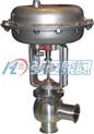锻钢阀|不锈钢阀门厂家:ZTRS(ZRS-10K)卫生型气动不锈钢调节阀