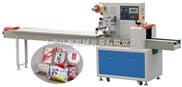 面包蛋黄派高速枕式自动包装机(带充气)