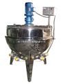 供应100L、200L、300L各种不锈钢夹层锅