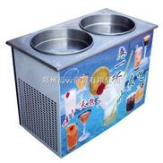 双平锅 炒冰机 制冰机器 炒雪泥机