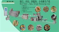 TSE65-III双螺杆膨化面食薯条生产线