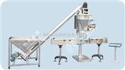 QD-5-供应石灰粉螺杆充填机、五香粉粉末充填机、粉剂包装机半自动包装机