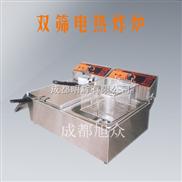 油炸食品必备—双筛电热扒炉