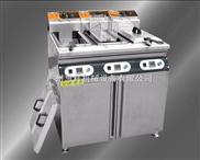 三缸三筛立式电炸炉