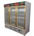 世瑞三门冷藏展示柜 水果饮料茶叶保鲜柜