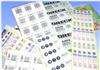 激光防伪商标 /条形码标签 /刮刮卡标签5