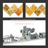 螺旋、贝壳、豌豆脆膨化设备生产线