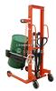 A4S油桶装卸于汽车、堆垛。手动液压油桶