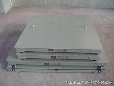 SCS-3吨单层电子地磅秤上海单层小地磅直销